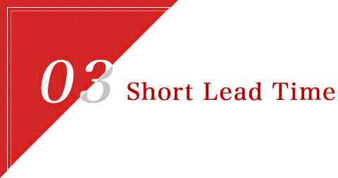 Short Lead Time